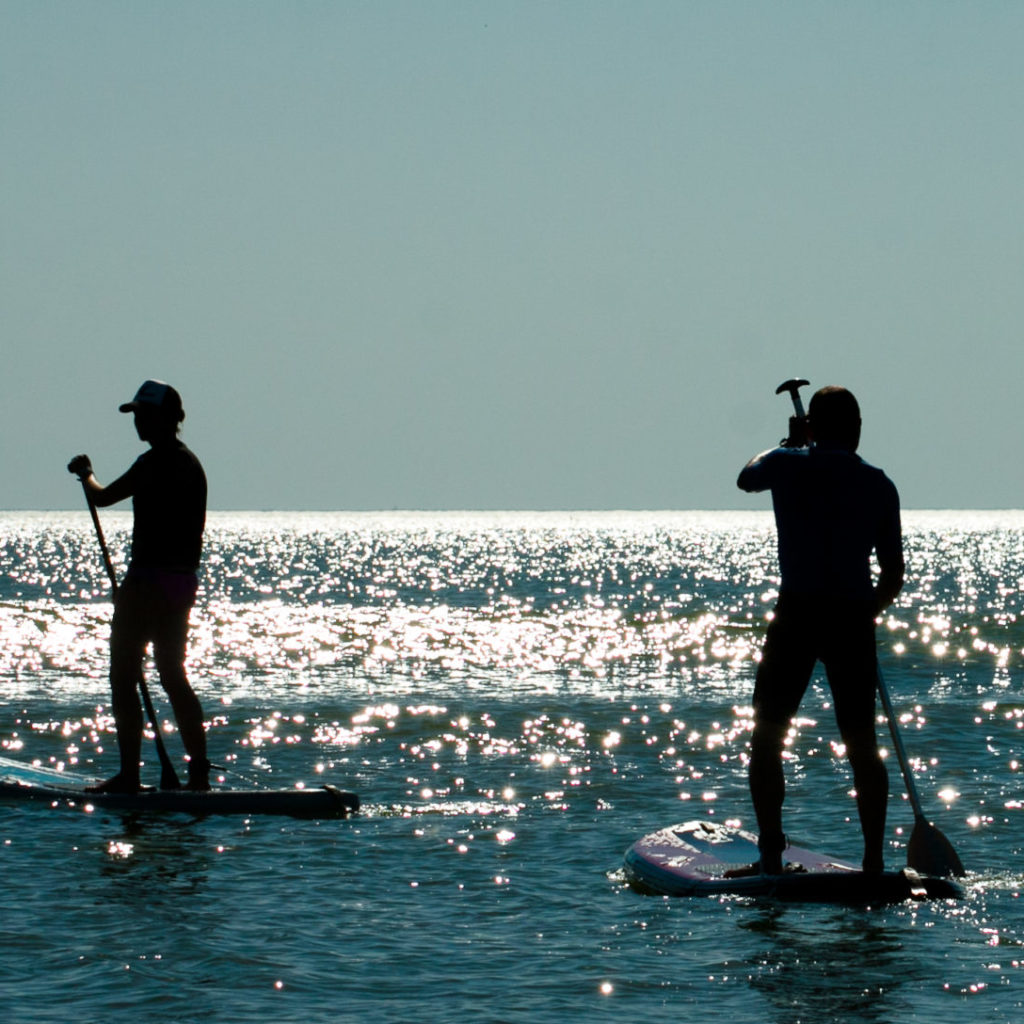 SUP Stand Up Paddle Verleih