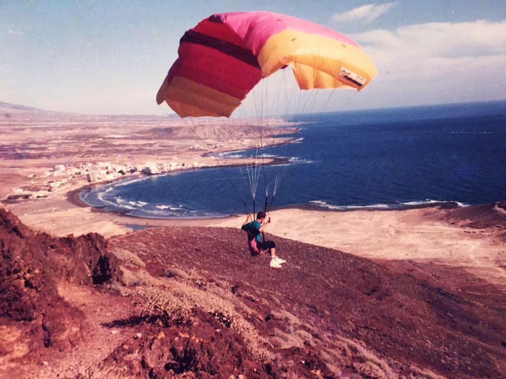 Paragliding 80er Jahre