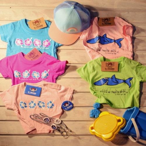 T-Shirt Kinder CFS Blume Hai