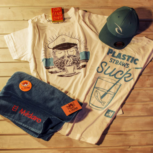 T-Shirt Clean Ocean Project Straws Suck