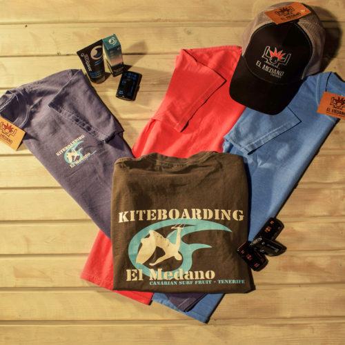 T-Shirt Kiteboarding el Medano