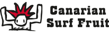 Canarian Surf Fruit Logo